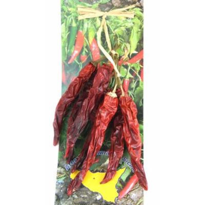 Organic Sicilian Hot Dried Chili Pepper in Bunch 25 Gram