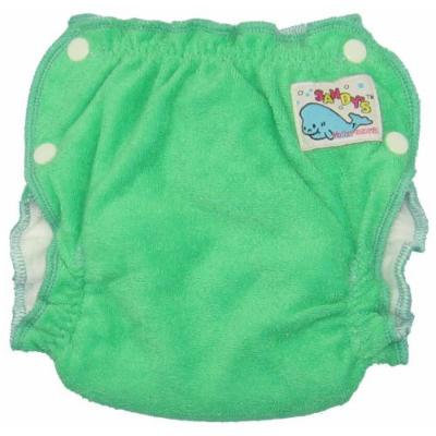 Mother-ease Sandy's Cloth Diaper (Small, Green)