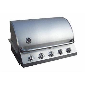 Diamondback Built-In Grill 5 Burner Propane LP Natural Gas 32