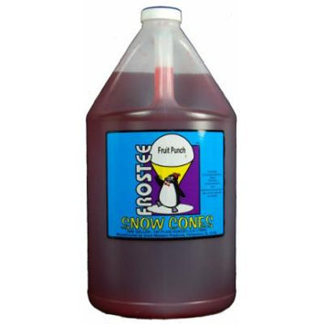 Frostee Snow Cone Syrup, Fruit Punch, 128 Ounce (pack of 4)