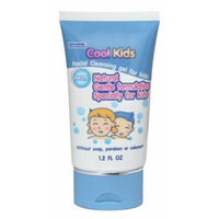 Cool Kids Facial Cleansing Gel Gentle Facial Cleanser Specialty for Kids.(good Services)