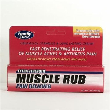 Extra Strength Muscle Rub Pain Reliever Cream 1.25oz