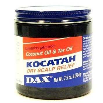 Dax Kocatah Dry Scalp 7.5 oz. Jar (3-Pack) with Free Nail File