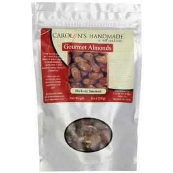 Carolyn's Handmade Gourmet Platinum Snack Bag, Hickory Smoked Almonds, 8 Ounce