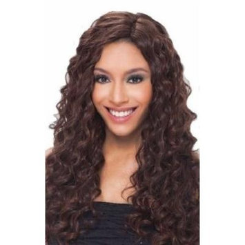 Milky Way Que Fourbulous Human Hair Weave MasterMix - Invisible Part Loose Deep 5pcs-OP8643