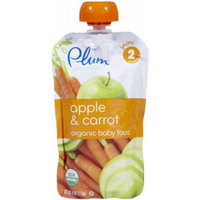 Plum Organics Stage 2 Purees - Apple Carrot - 4 oz - 6 pk