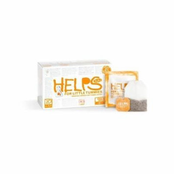 Helps Kids Organic Herbal Teas, For Little Tummies, 20 Count (Pack of 6)