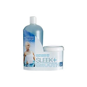 Aquage Smoothing Shampoo 35 Oz & Healing Conditioner 16 Oz set