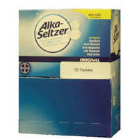 Alka-Seltzer Original Formula Antacids, 50 Packets