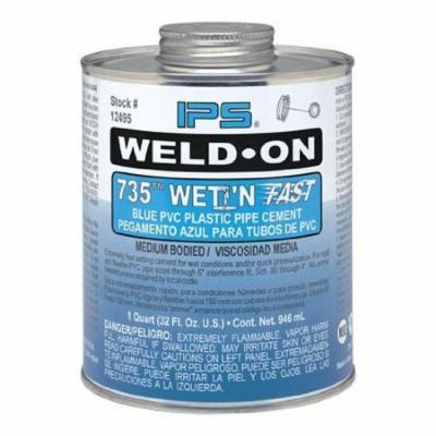EZ-FLO 86243 Wet and Fast Pvc Cement Medium Body