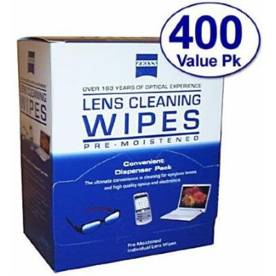 Zeiss Eyeglass Optic Lens Cleaning Wipes Tissues, 200PK- Pre Moistened