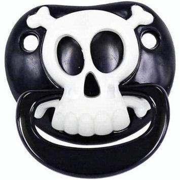 Billy BOB Black Pirate Skull X Bones Childrens Pacifier Baby Pacifer Teether