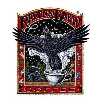 Raven's Brew Whole Bean Misty Fjords, Medium Roast 12-Ounce Bag
