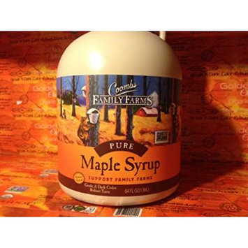 Maple Syrup Grade A Dark Color Robust Taste/Formerly Grade B Coombs 64 Oz Jug Half Gallon