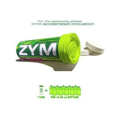 ZYM Portable Electrolyte Drink - Lemon/Lime - 24 Tubes