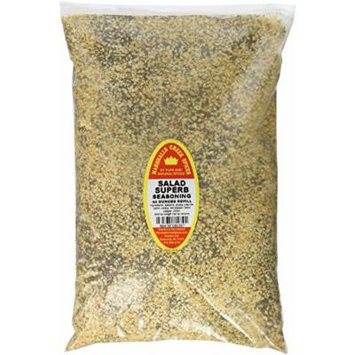 Marshalls Creek Spices Family Size Refill Salad Superb No Salt Seas Compare To Salad Supreme 44 OZ