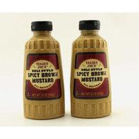 Trader Joes Deli Style Spicy Brown Mustard 12 oz jars, 2 pack
