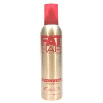 Samy Fat Hair 0 Calories Amplifying Mousse, 7 Ounce (Pack of 6)