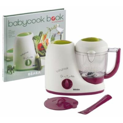 Beaba Babycook Classic Baby Food Maker with Cookbook, Gipsy