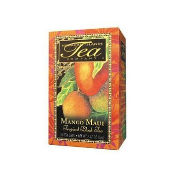 Save $$---6 Boxes of MANGO MAUI Black Tea---20 tea bags per box---Makes a GREAT gift