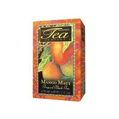 Save $$---6 Boxes of MANGO MAUI Black Tea---20 tea bags per box---Makes a GREAT gift