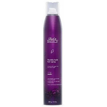 Back to Basics Flexible Hold Hair Spray 10 Oz (6 Pack)