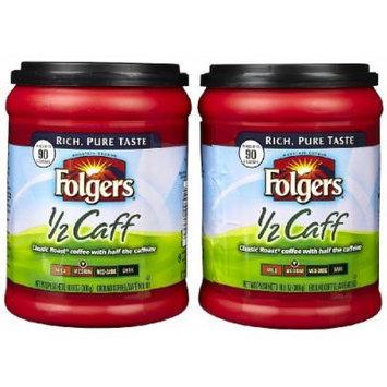 Folgers Half Caff Ground Coffee - 10.8 oz - 2 pk