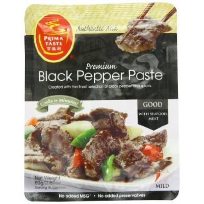 Prima Taste Black Pepper Sauce, 2.8-Ounce (Pack of 12)