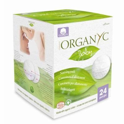Organyc Nursing Pads Made With Organic Cotton - 24 Count