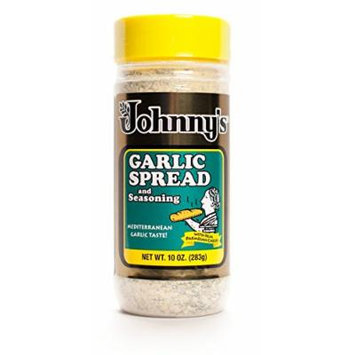 Johnny's Garlic Spread and Seasoning, 10 Ounce (Pack of 6)