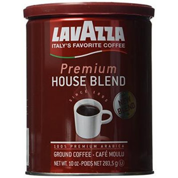 Lavazza Premium House Blend Coffee, 10-Ounce (Pack of 1)