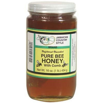 Pure Bee Honey with Comb 16oz