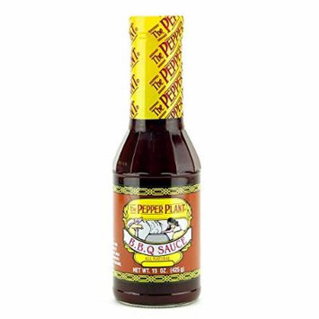 The Pepper Plant BBQ Sauce All Natural Barbecue Sauce 15 Ounce Bottle