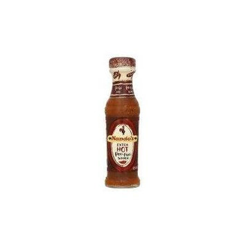 Nandos Extra Hot Peri Peri Sauce 135g - Pack of 6