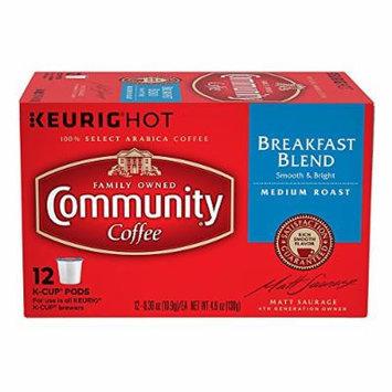 Community Coffee Breakfast Blend Keurig K-Cups, 24 Count