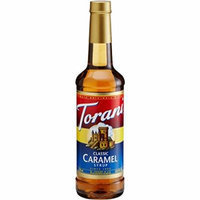 TORANI FLAVORED SYRUP 150 ML BOTTLE