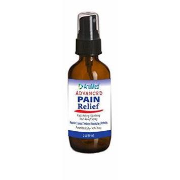 Advanced Pain Relief AnuMed Intl 2 oz Liquid