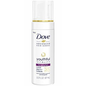 Dove Advanced Hair Series Silk Creme, Youthful Vitality 3.3 oz