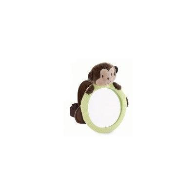 Child of Mine Rear Facing Baby View Mirror (Brown/Green Monkey)