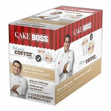 Cake Boss Coffee Vanilla Buttercream, 24 Count