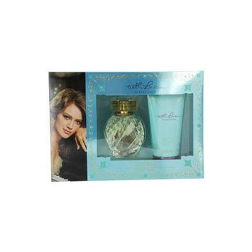 WITH LOVE HILARY DUFF by Hilary Duff SET-EAU DE PARFUM SPRAY 3.3 OZ & BODY LOTION 5 OZ for WOMEN