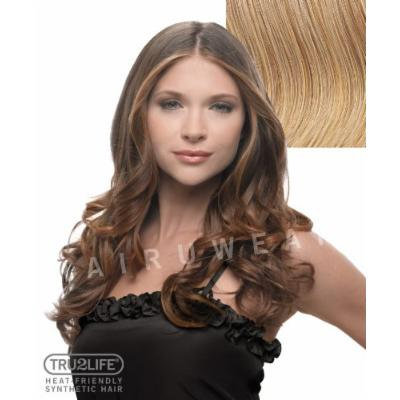 HAIRDO Styleable Extensions - 23 Inch Wavy Clip In Extension - R25-Ginger Blonde/Medium Gold Blonde
