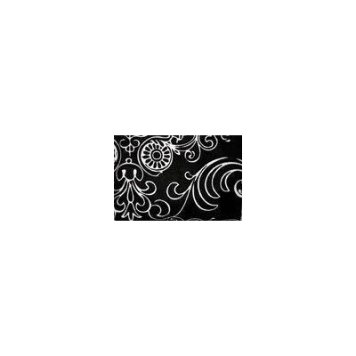 Sippi Grip Cup Leash Color/Pattern: Black Flourish