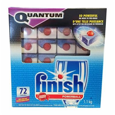 Finish Quantum Powerball Dishwasher Detergent Mega Pack, 72-Count