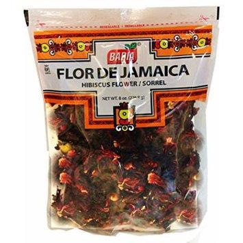 Hibiscus Flowers. Sorrel. 8 oz bag