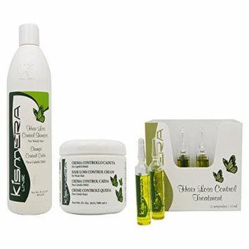 Kismera Line Hair Loss Control Shampoo & Cream & Treatment 12x15ml each