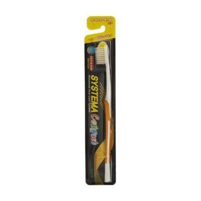 Systema Original Super Soft Toothbrush, Slim & Soft Bristles, Individually Sealed (Pack of 6)