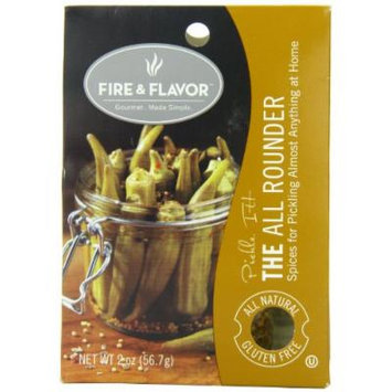 Fire & Flavor Pickling Seasoning, The All Rounder, 2 Ounce