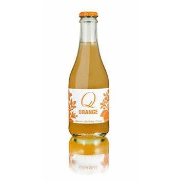 Q Drinks, Sparkling Soda, Orange, 9-Ounce (Pack of 24)