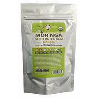 Moringa Tea - Orange Cranberry - USDA Organic - 24 Potent Tea Bags - Antioxidant Rich Energy Booster